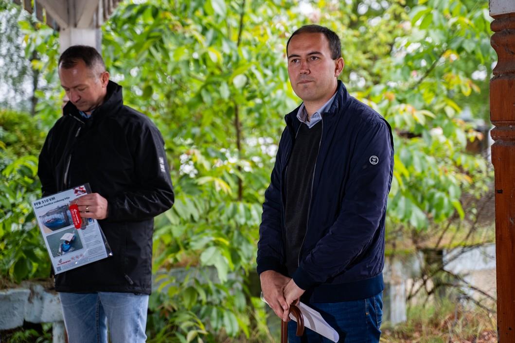 Ivan Sabolić, načelnik općine Legrad // Foto: Luka Krušec / LuMedia