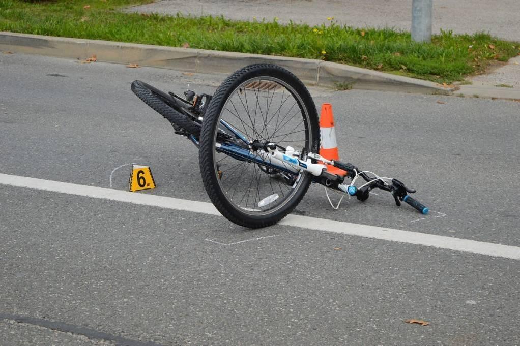 Očevid nesreće u kojoj je sudjelovao bicikl