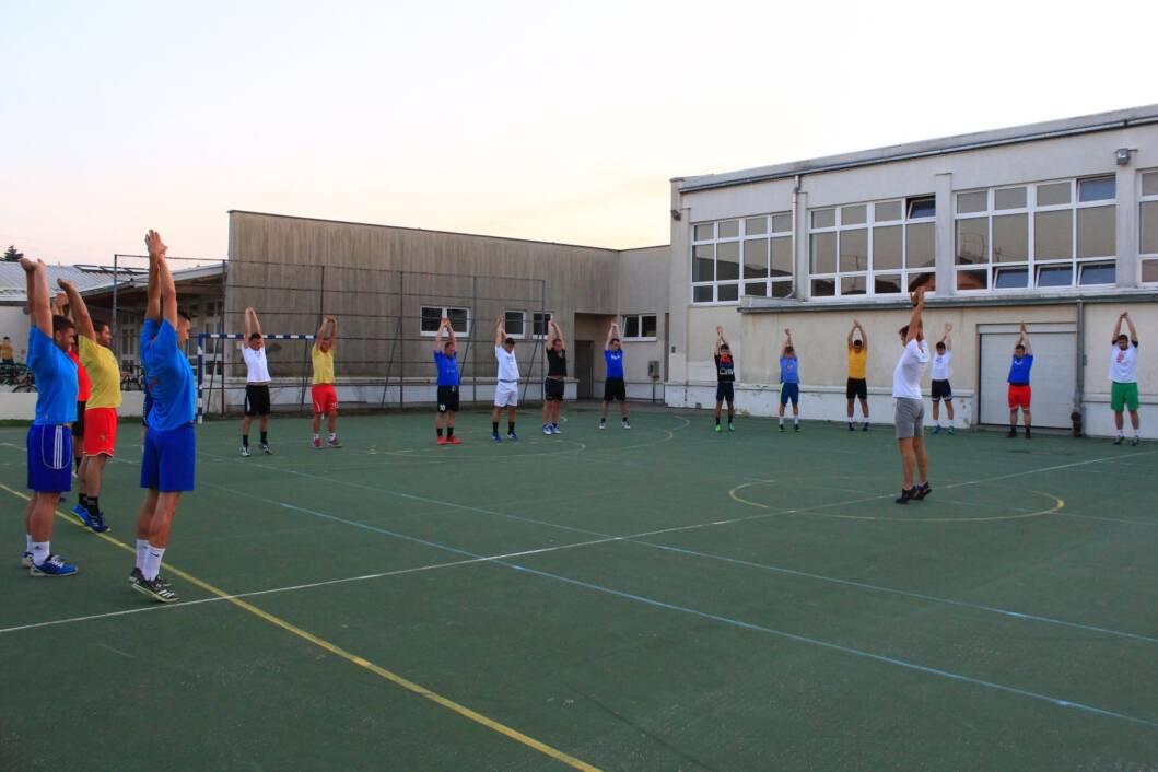 Rukometaši Koprivnice na treningu