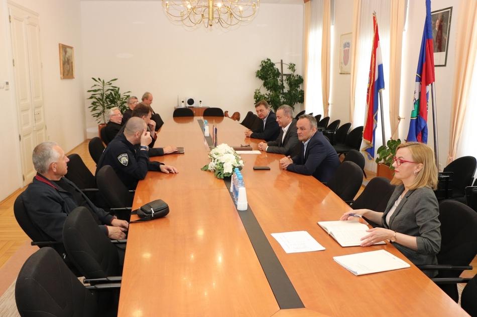 Sastanak župana Koprivničko-križevačke županije s predstavnicima dekanata Varaždinske i Bjelovarsko-križevačke biskupije
