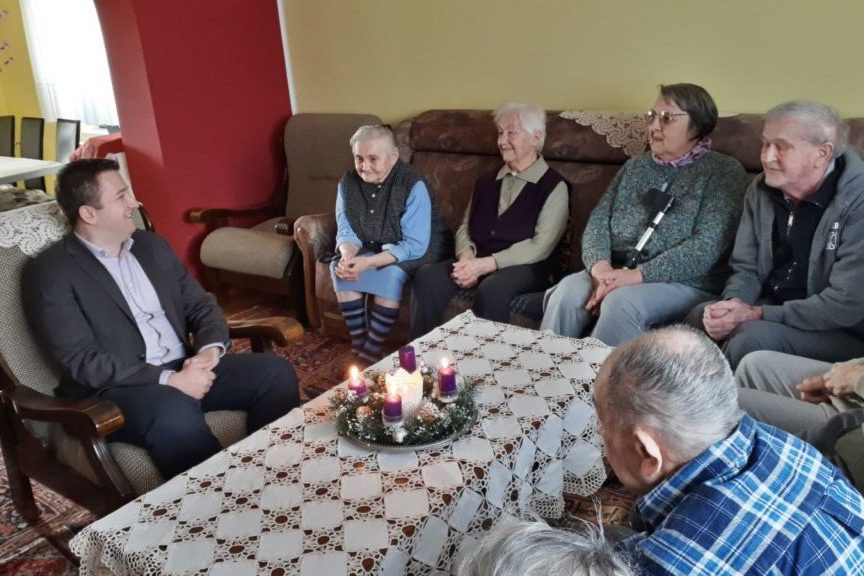 Gradonačelnik Đurđevca Hrvoje Janči i stari sugrađani
