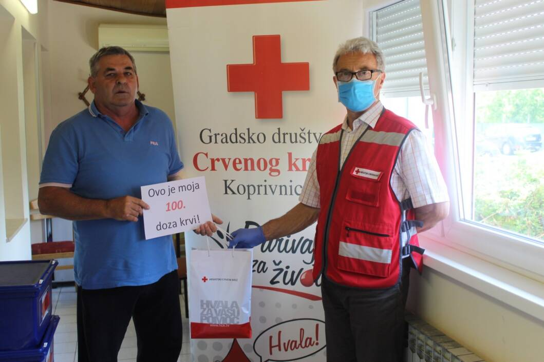 Dobrovoljno darivanje krvi, Stjepan Topolko