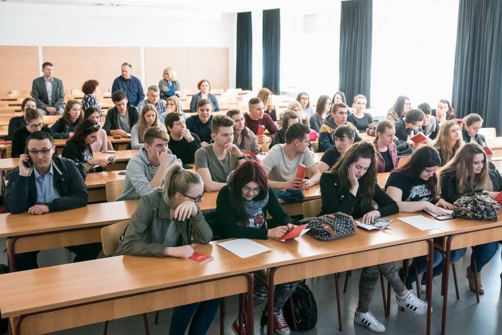 Studenti na Sveučilištu Sjever