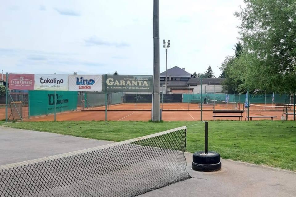 Teniski tereni na koprivničkom stadionu