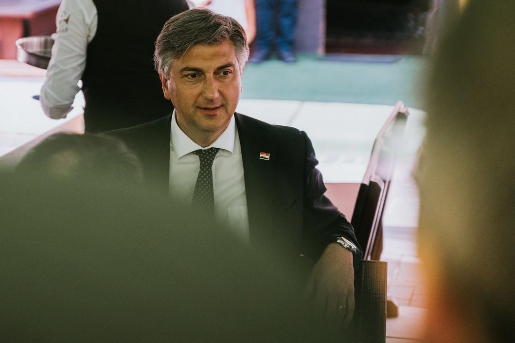 Andrej Plenković u Koprivnici // Foto: Luka Krušec / LuMedia