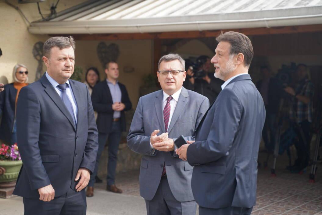 Darko Sobota, Damir Felak i Gordan Jandroković