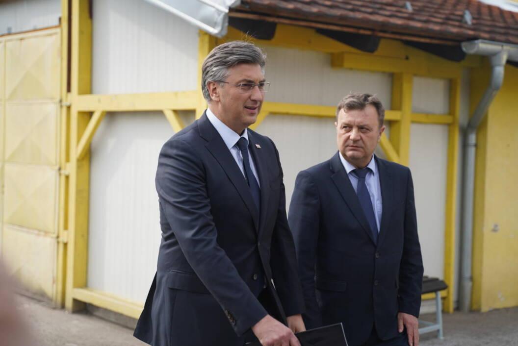 Andrej Plenković i Darko Sobota