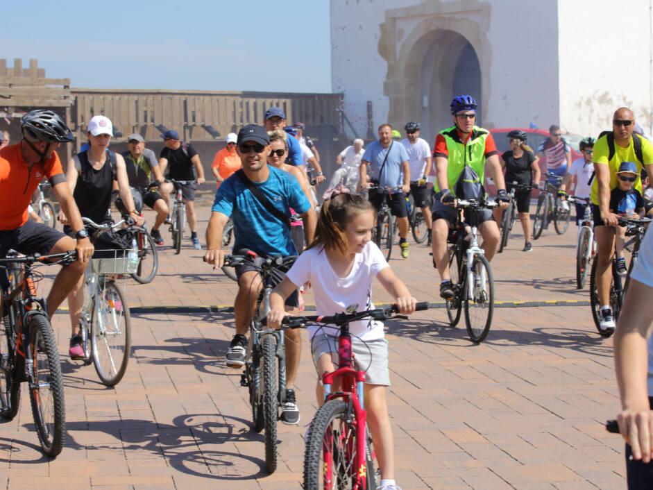 Sportsko-rekreativna vožnja Biciklinom v krug u Đurđevcu