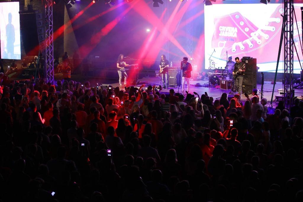 Koncert Crvene jabuke na Picokijadi u Đurđevcu