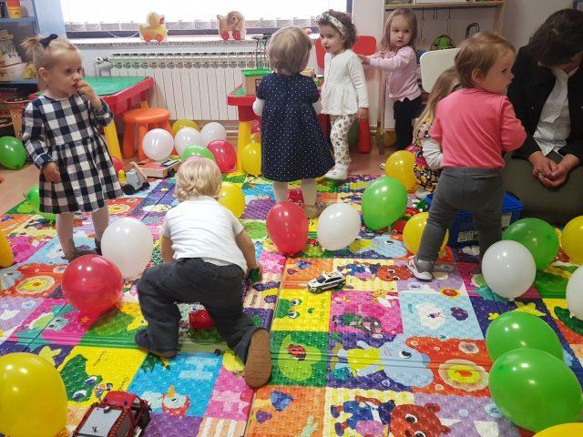 Djeca u dječjoj igraonici