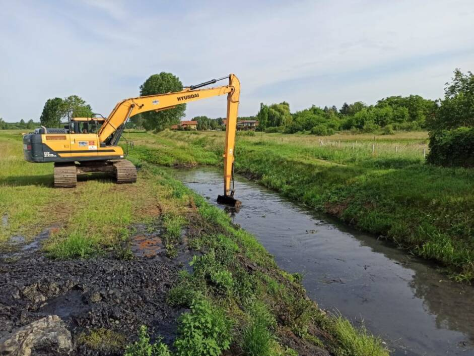 Uređivanje kanala na području Đurđevca