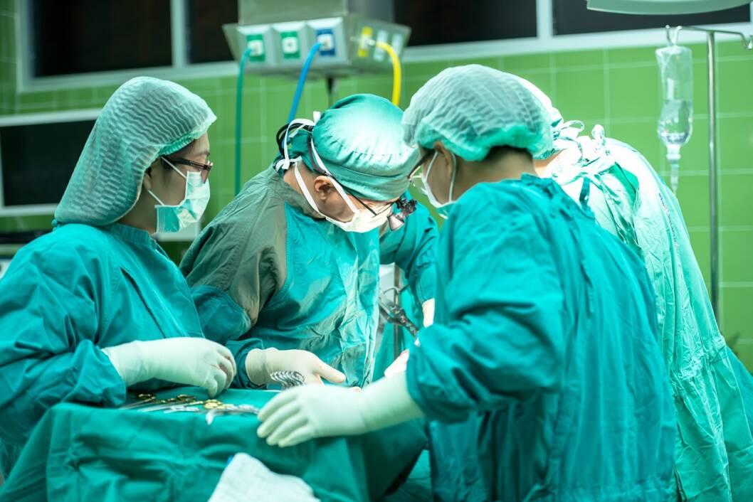 Liječnički tim za vrijeme operacije