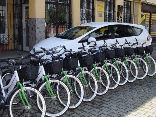 Električni bicikli i hibridno vozilo stigli na Šodericu