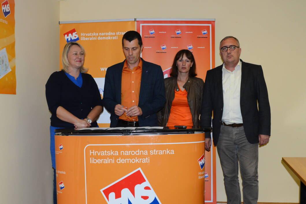 Tajana Perošić, Goran Pakasin, Lidija Šestanj i Mladen Sitek