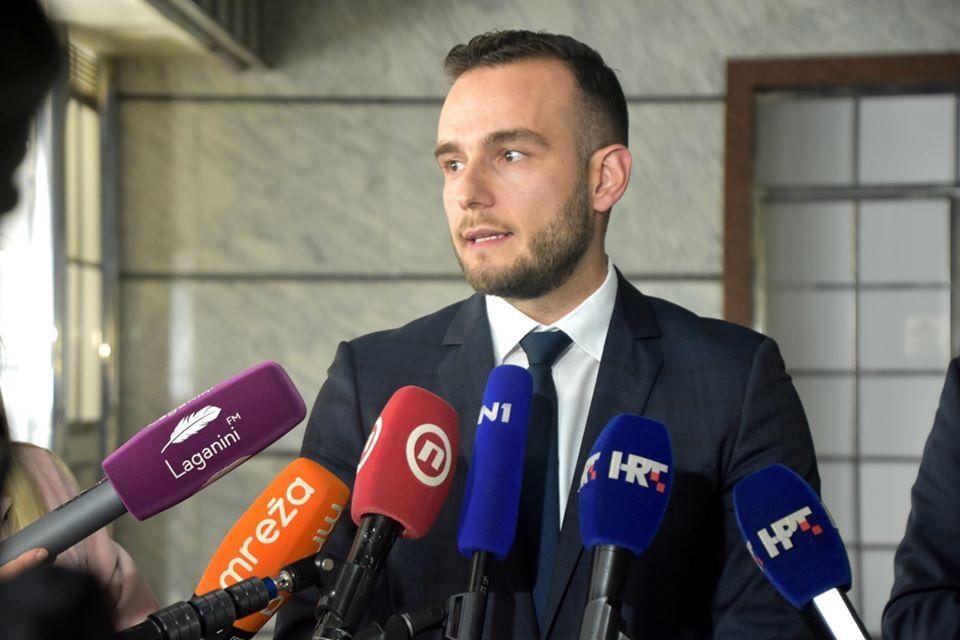 Ministar rada i mirovinskoga sustava Josip Aladrović
