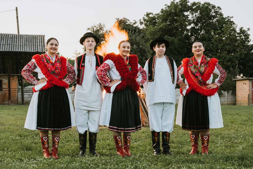 Krijes nakon svečane sjednice Općine Koprivnički Ivanec // Foto: Luka Krušec / LuMedia