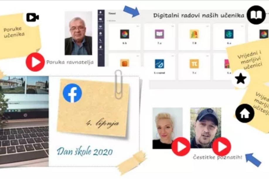 Osnovna škola Fran Koncelak Drnje virtualnim putem proslavila svoj dan