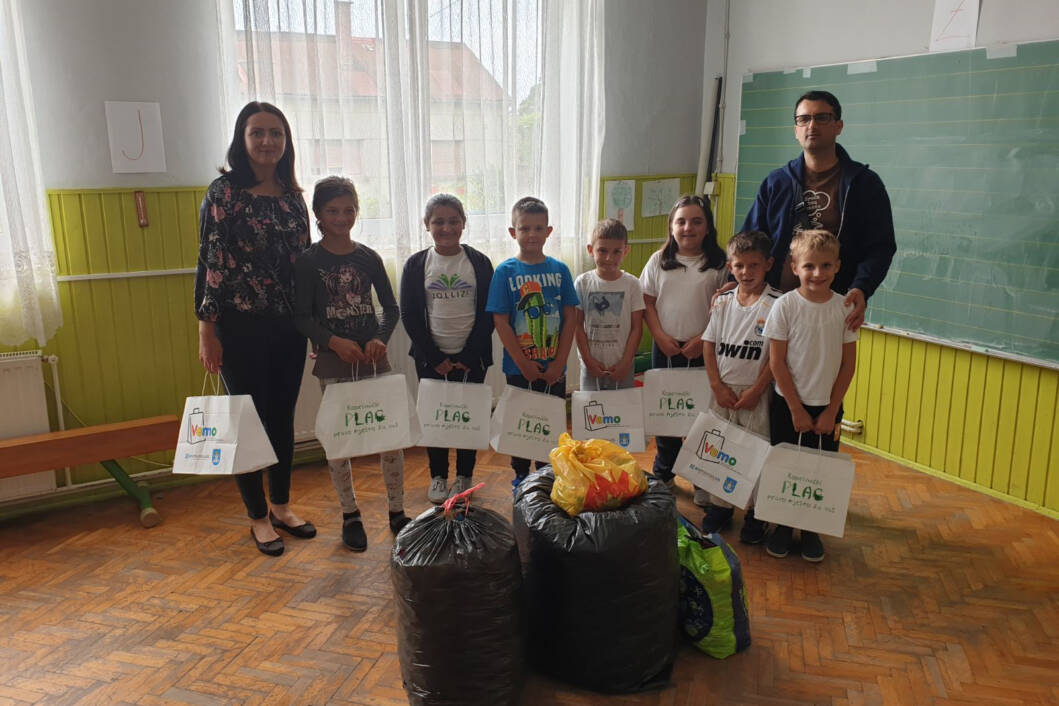 Učenici PŠ Veliki Otok prikupili čepove za humanitarne svrhe