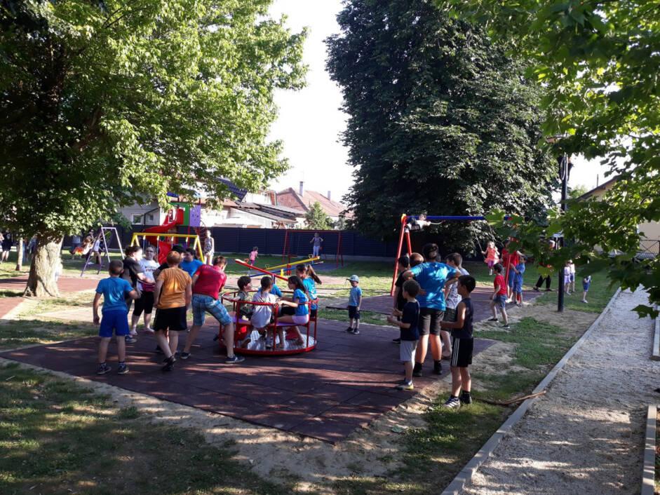 Novo dječje igralište u parku 'Pod lipama' u Novigradu Podravskom