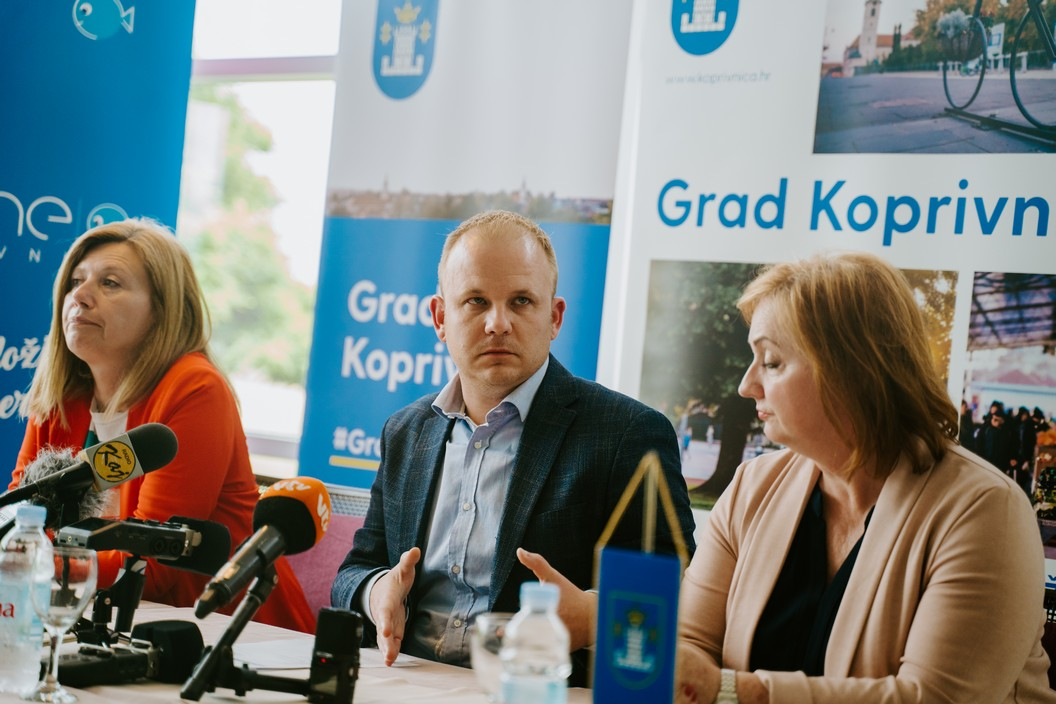 Press konferencija Grada Koprivnice // Foto: Luka Krušec / LuMedia