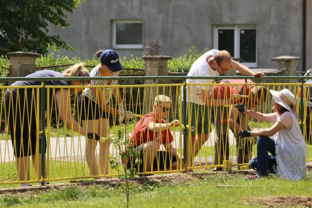 Radna akcija u područnoj školi Veliki Otok