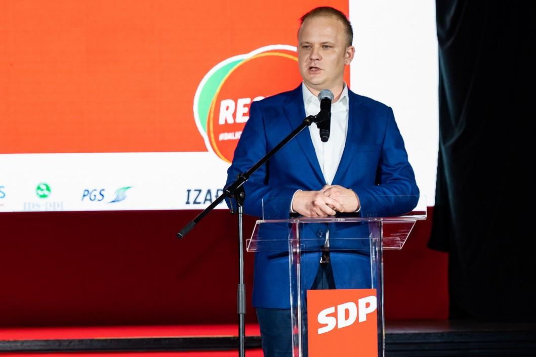 Mišel Jakšić, gradonačelnik grada Koprivnice // Foto: Luka Krušec / LuMedia