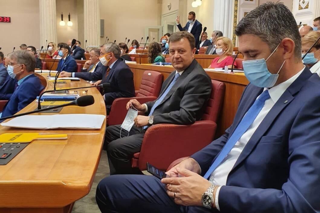 Darko Sobota u Hrvatskom saboru