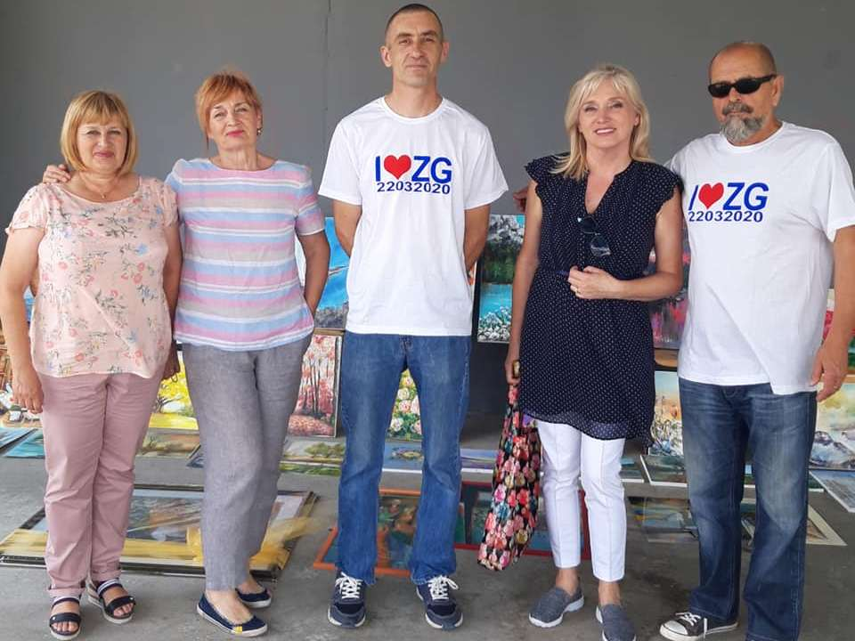 U humanitarnoj akciji Slikari i kipari za Markuševec sudjelovali Đurđevčani i Grad Đurđevac