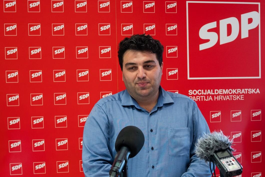 Mario Rajn, križevački gradonačelnik // Foto: Luka Krušec / LuMedia