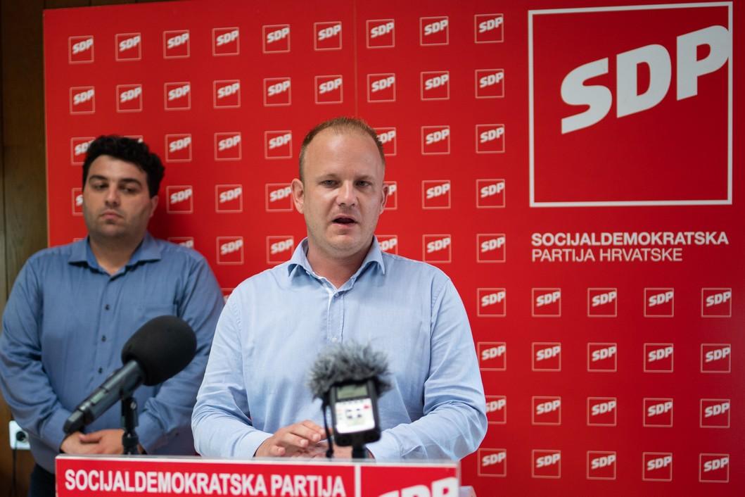 Mišel Jakšić, koprivnički gradonačelnik // Foto: Luka Krušec / LuMedia