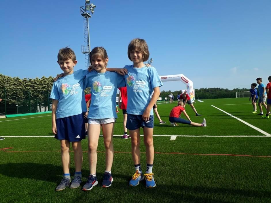 Mali atletičari iz Đurđevca na Sportskim igrama mladih