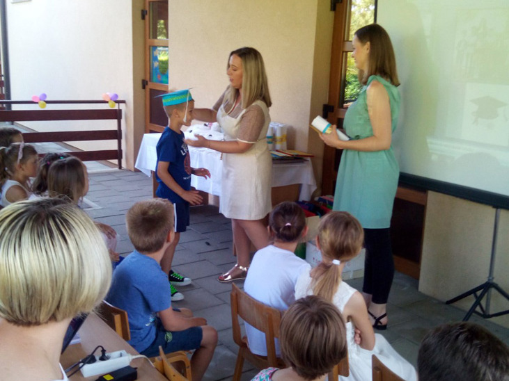 Oproštaj s predškolcima u Rasinji