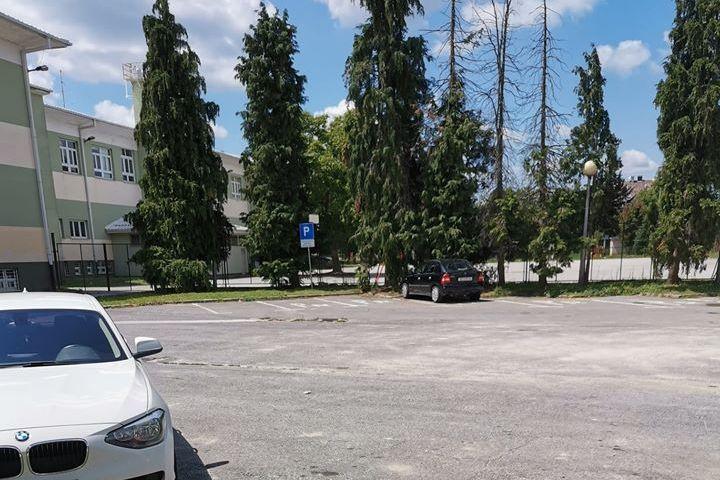 Parkiralište u Koprivnici
