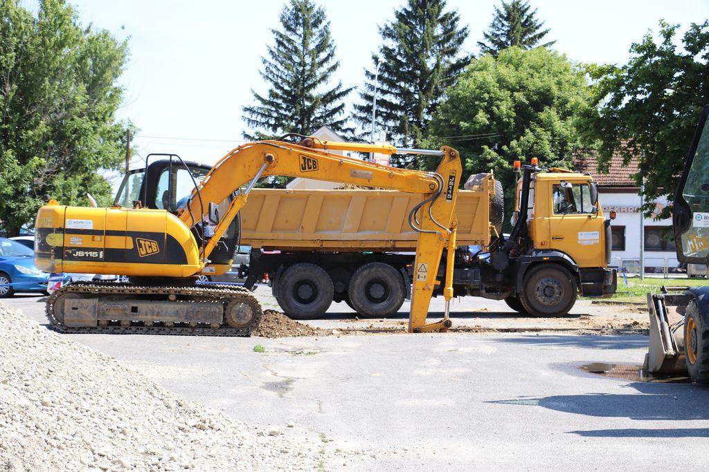 Radovi kraj buduće dvorane Osnovne škole Đuro Ester u Koprivnici