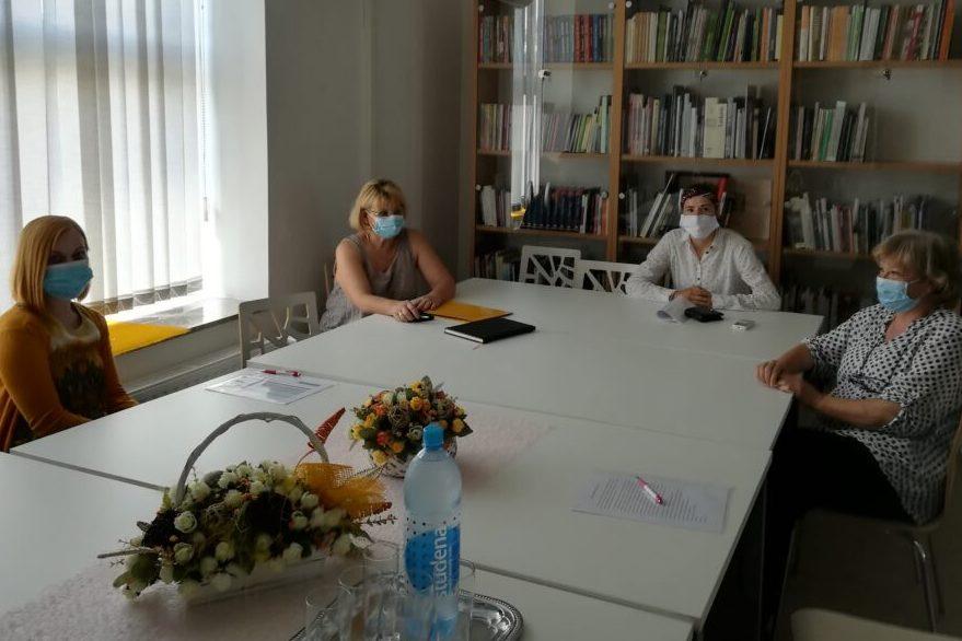 Tim projekta Ruka podrške i prijateljstva u Đurđevcu