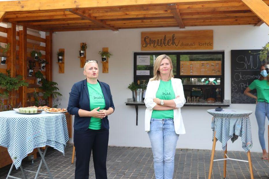 Na Gradskoj tržnici u Koprivnici otvoren restorančić Smutek – domaći kutek