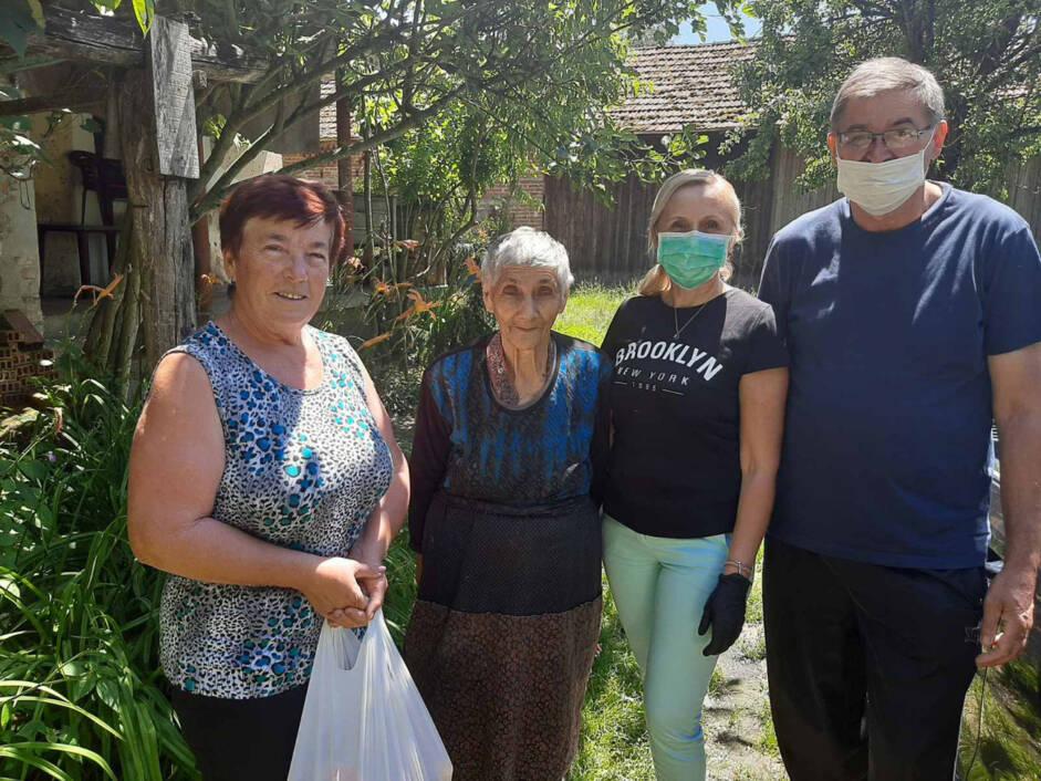 Obilazak starih i nemoćnih na području općine Molve