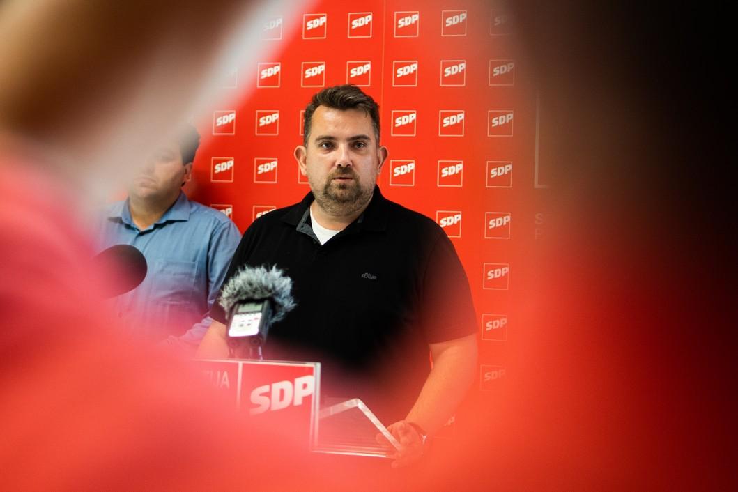 Tomislav Golubić, predsjednik koprivničkog SDP-a // Foto: Luka Krušec / LuMedia