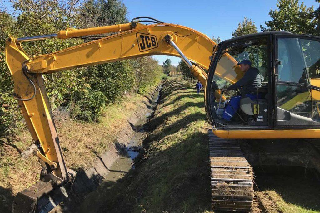 Uređenje odvodnih kanala u Đurđevcu