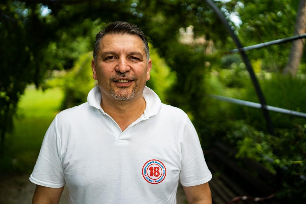 Željko Lacković, saborski zastupnik i predsjednik đurđevačkog gradskog vijeća // Foto: Luka Krušec / LuMedia