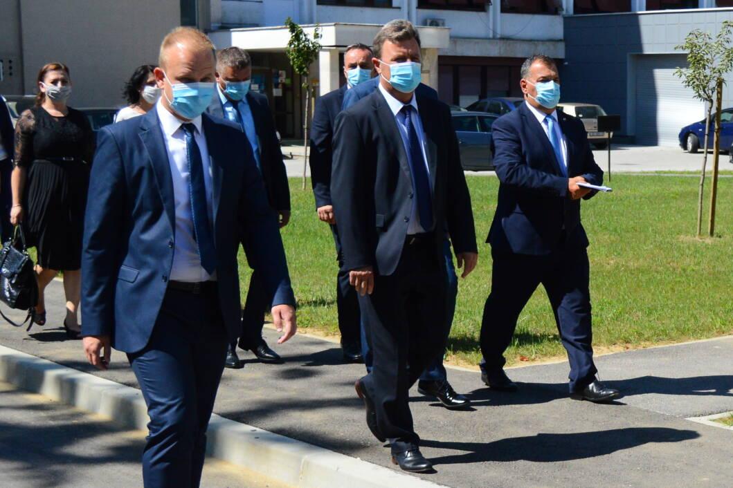 Mišel Jakšić, Darko Sobota i Vili Beroš u Koprivnici