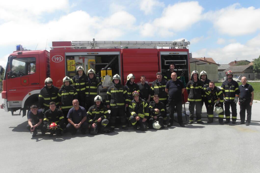 Javna vatrogasna postrojba u Đurđevcu