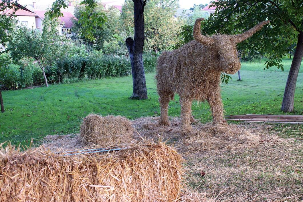 Nosorog od vune u Ludbregu
