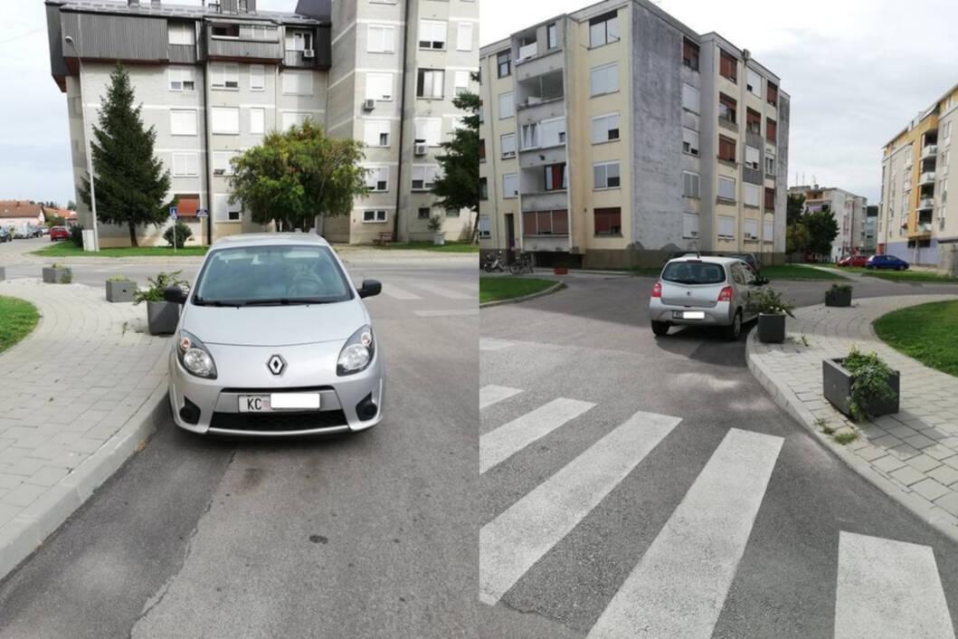 Nepropisno parkiranje u Koprivnici