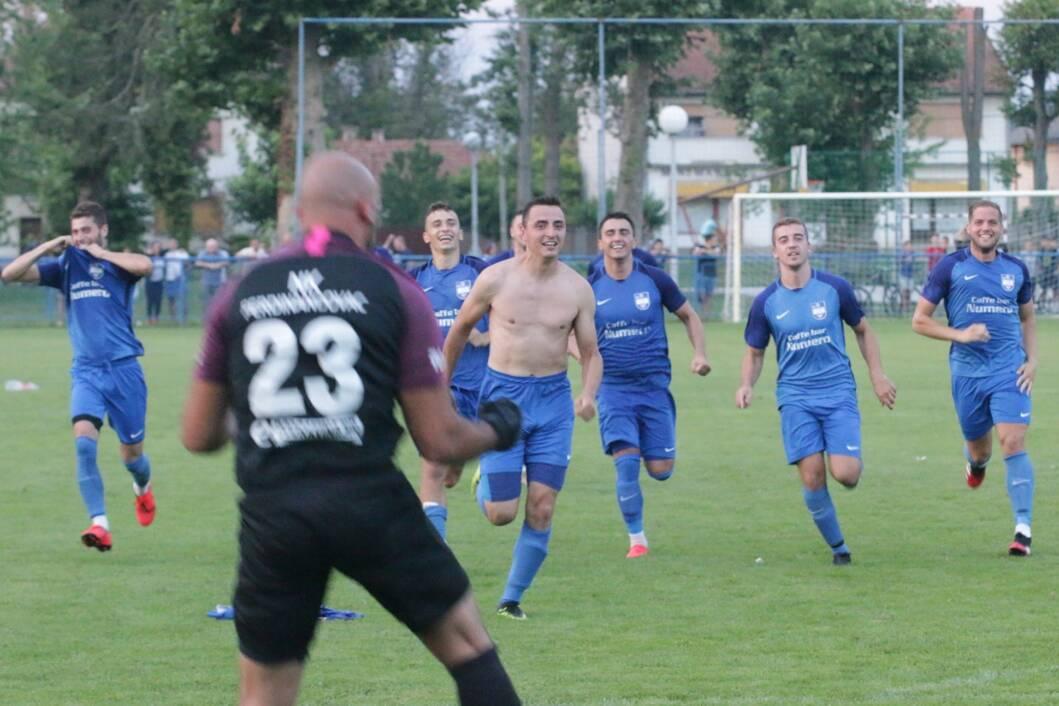 Slavlje nogometaša Ferdinandovca
