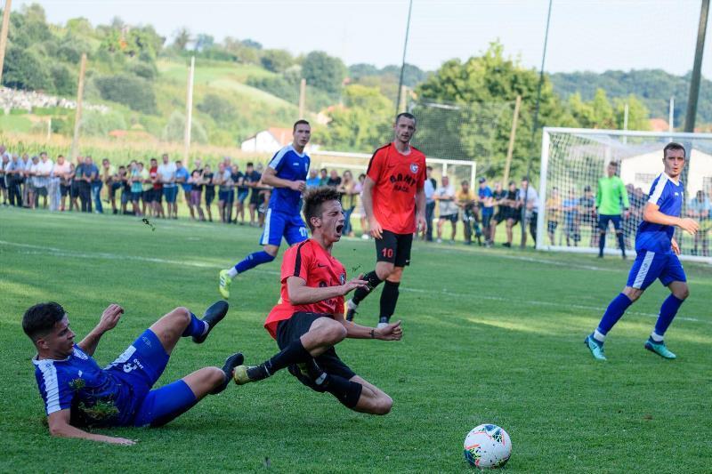 Detalj s utakmice između momčadi Gaja Mače i krapinskog Zagorca