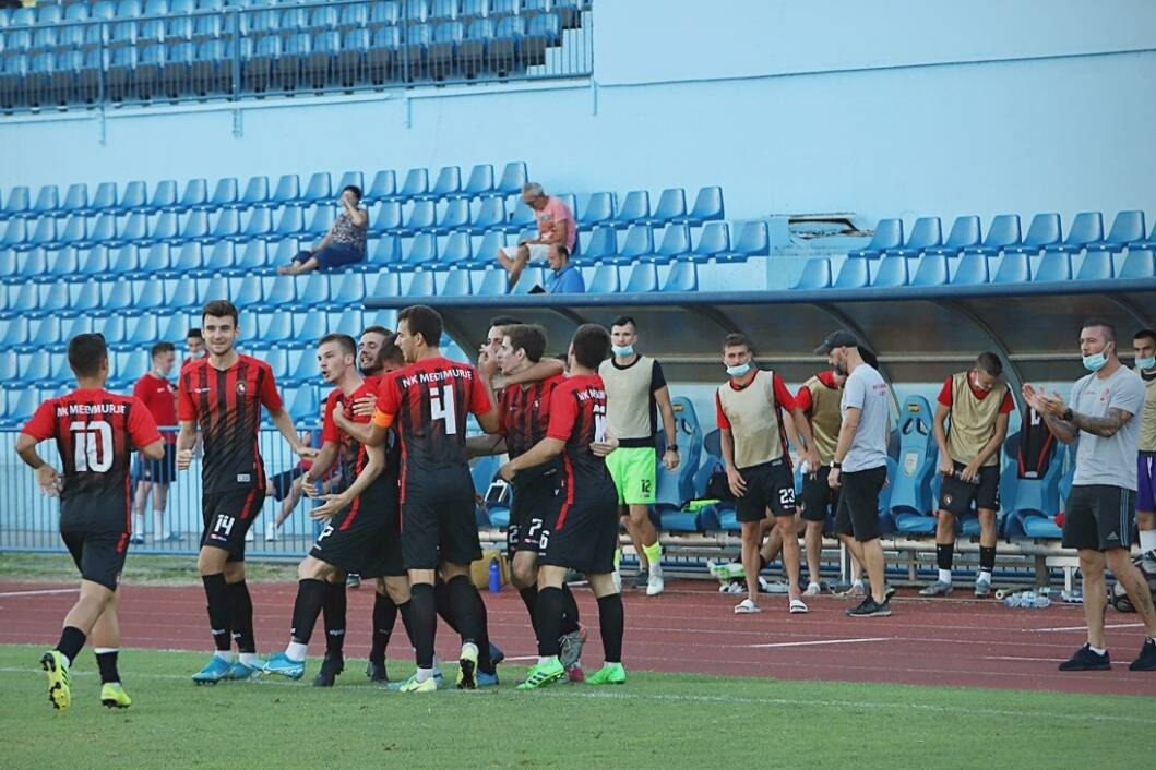 Slavlje nogometaša Međimurja