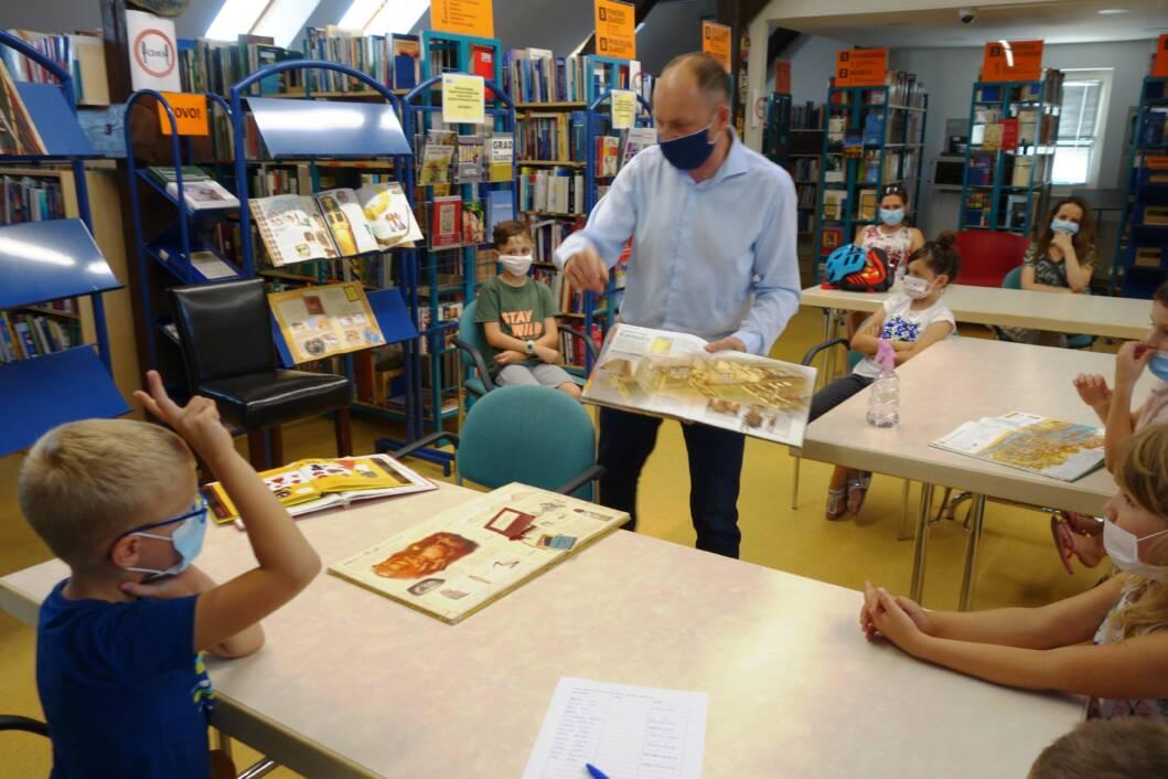 Pričaonica za djecu u koprivničkoj knjižnici