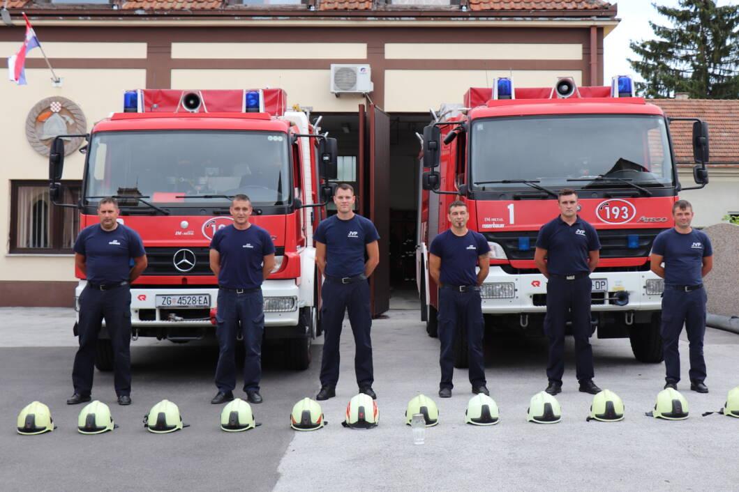 Koprivnički vatrogasci odaju počast poginulima u kornatskoj tragediji