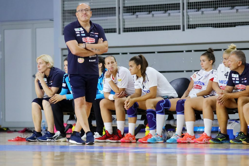 Trener Podravke Vegete Zlatko Saračević